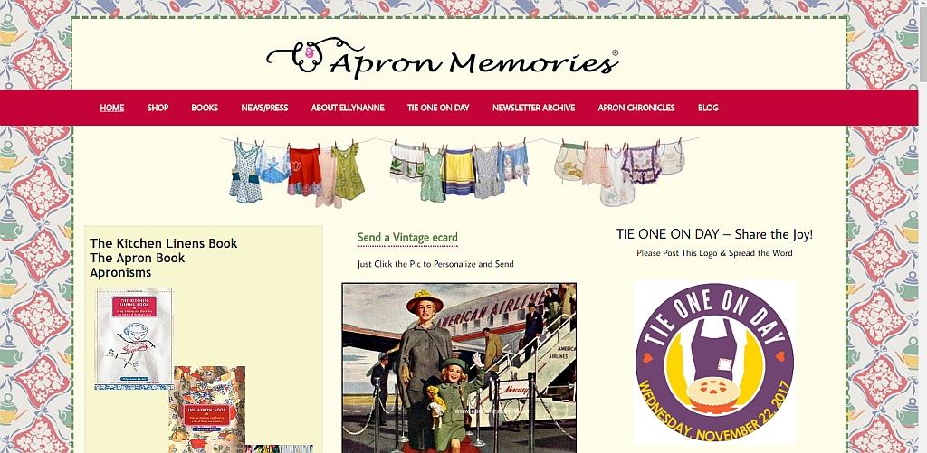 Apron Memories - EllynAnne Geisel